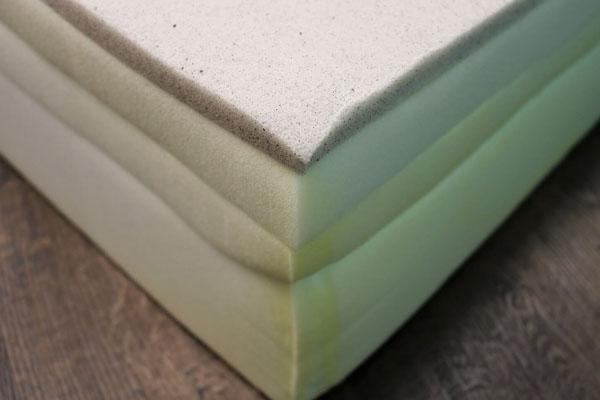 Image of the Bear mattress foam layers.